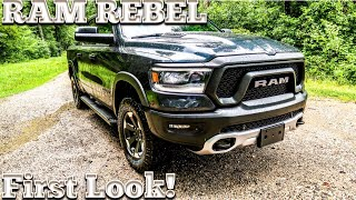 2019 RAM Rebel 1500 First Look!