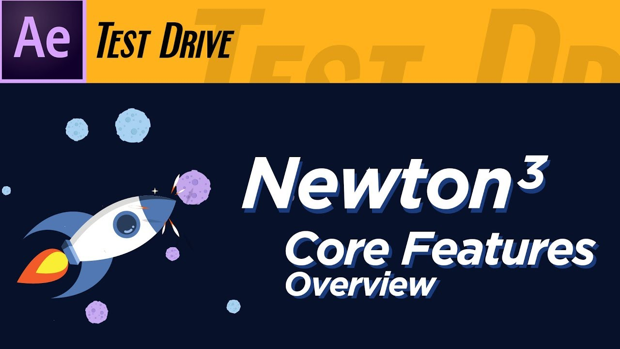Newton3 Core Functions After Effects Tutorial