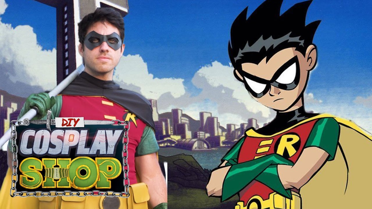 sc 1 st  YouTube & Robin - Teen Titans - DIY COSPLAY SHOP - YouTube
