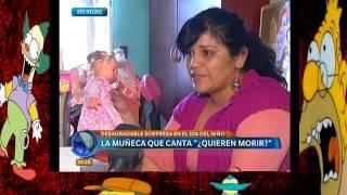 Muñeca Dice Quieren Morir - Real