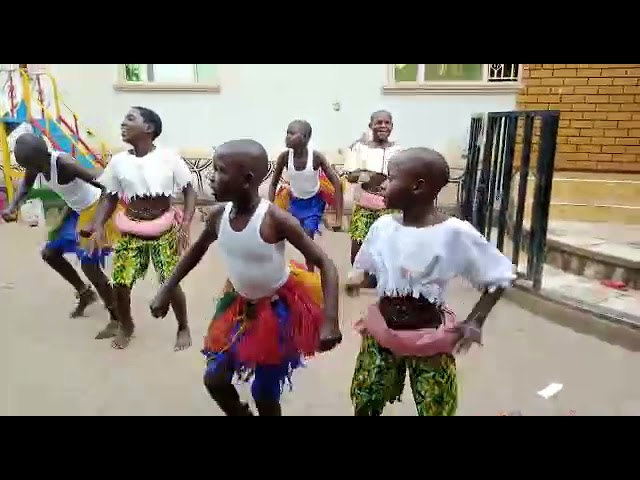 AGLOM Children's Home: Traditional Dance 2