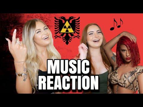 ALBANIAN MUSIC REACTION | Tayna, Rina, Butrint, Noizy, Dafina, 2Ton
