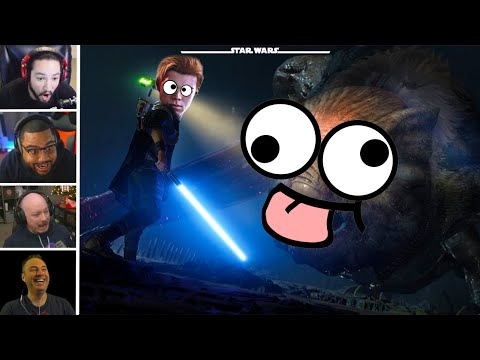 Star Wars Jedi: Fallen Order Glitches/Funny Moments Reaction (Star Wars) |