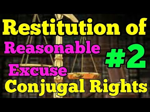 Restitution of conjugal rights in section 9 ( HMA,1955)