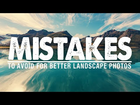 Composition MISTAKES To AVOID In Landscape Photography