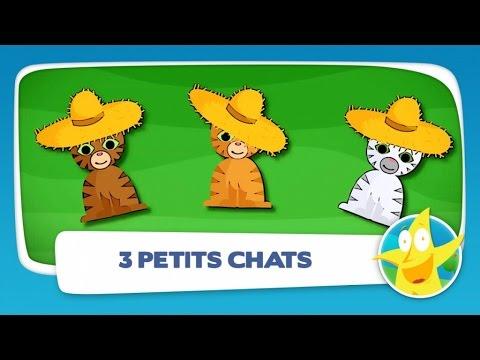 Comptine Pour Enfants  - Trois Petits Chats