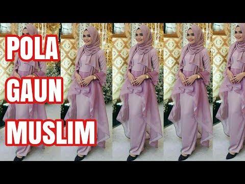 POLA GAUN MUSLIM