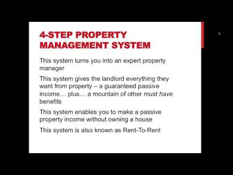The 4 simple steps to make a £5,000 monthly recurring property income… without owning a house