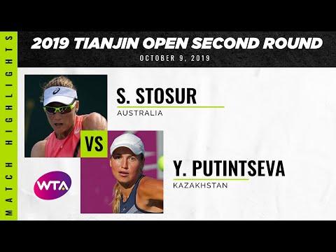 WTA Tianjin round 2 | Samantha Stosur vs. Yulia Putintseva | Highlights