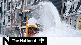 The challenges of cleaning up after the N.L. storm