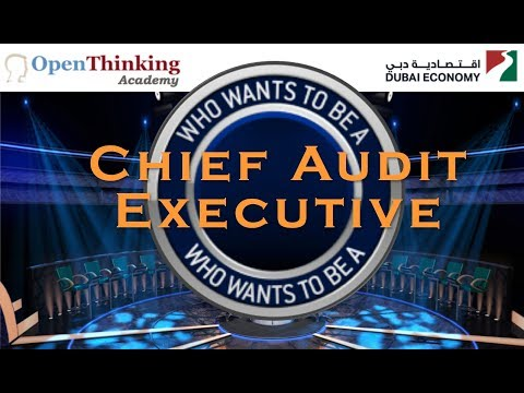 Who Wants To Be A CAE (Chief Audit Executive)