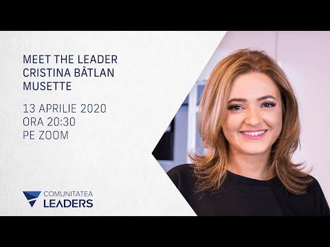 Meet the leader - Cristina Bâtlan, Musette, despre decizii și sustenabilitate în timp de criză