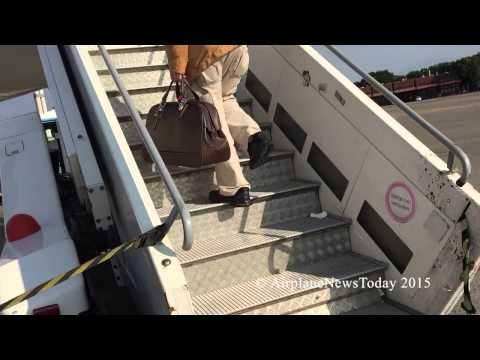 Boarding an Air France A321-200 in Berlin-Tegel (HD)
