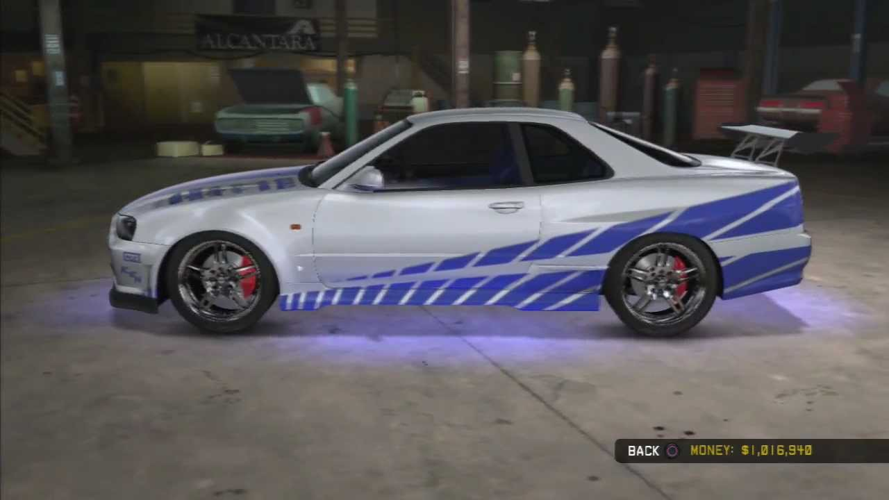 Midnight Club Los Angeles Fast Furious Cars YouTube - 2 fast 2 furious cars