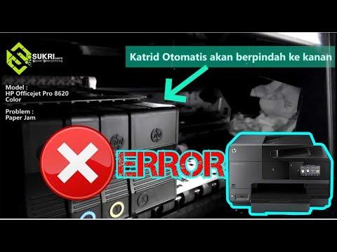 Printer HP Officejet Pro 8620 Buffering Error Printing ( Paper Jam ) by  Sukri Yanto
