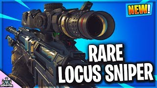 OPENING BLACK OPS 4 RESERVE CRATES FOR RARE GUNS LOCUS SNIPER PEACE KEEPER