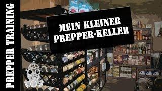 Mein kleiner Prepper Keller | Vorratsaufbewahrung | German HD 1080p
