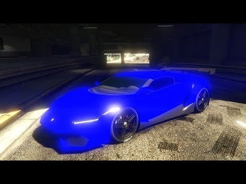 Gta 5 Neon Blue Modded Color Crew