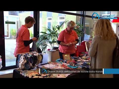 Kraammarkt in Wilhelmina Ziekenhuis in Assen