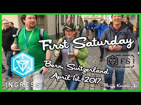 Ingress First Saturday - Bern, April 1st 2017