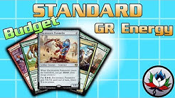 """MTG – The Most Competitive/Successful """"Budget"""" Standard Deck Tech for Magic - G/R Energy!"""