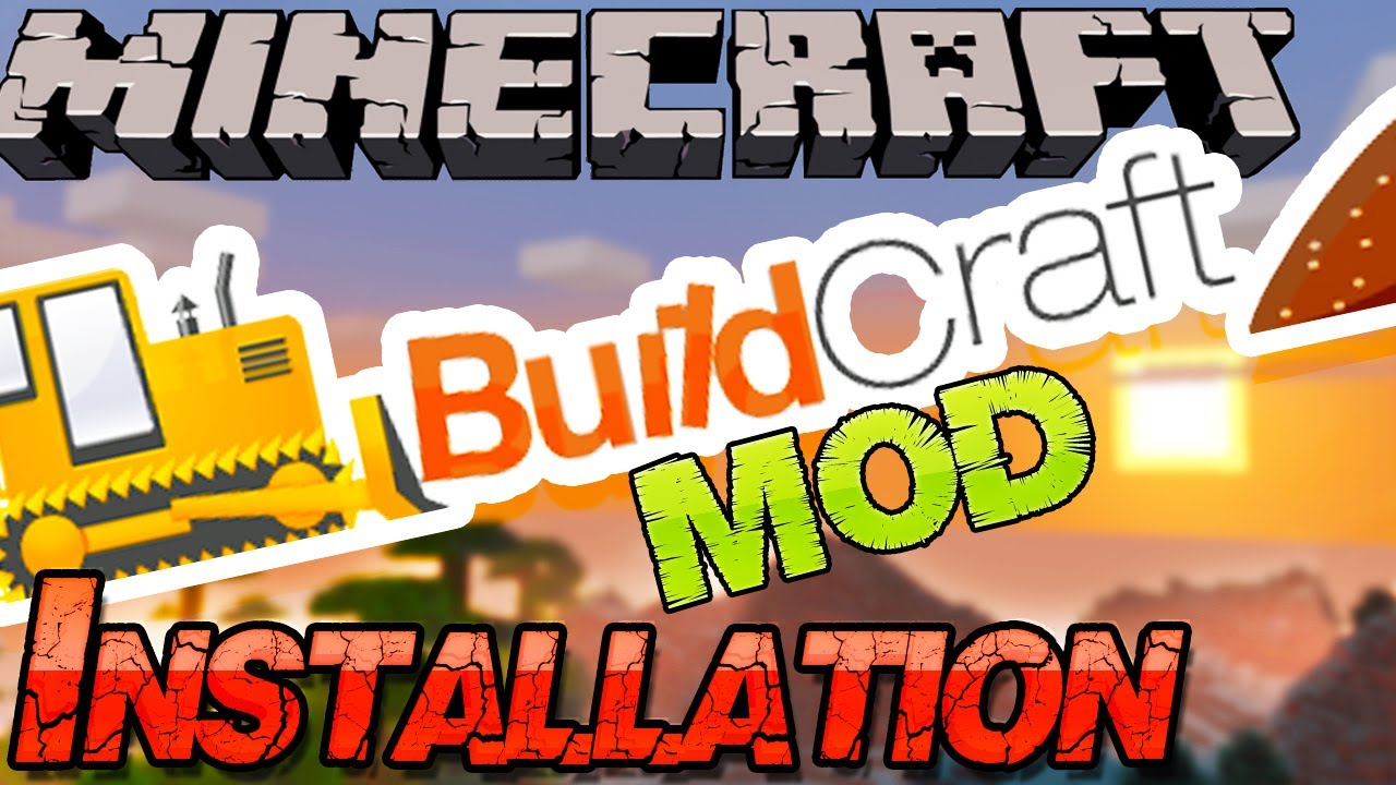 how to install buildcraft 1.8.9