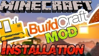 Minecraft 1.8.9 BUILDCRAFT Mod Installieren: Pipelines, Bau-Maschinen - Deutsch German Mac Win