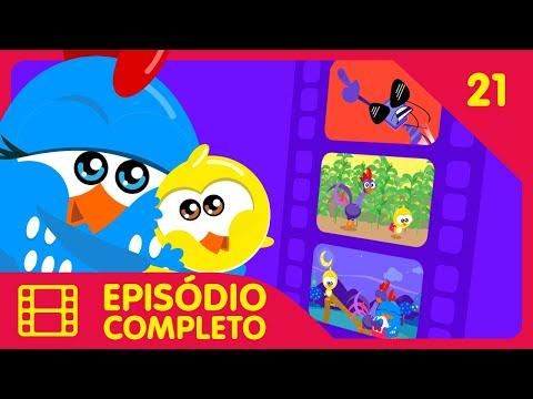 Galinha Pintadinha Mini - Episódio 21 Completo - 12 min