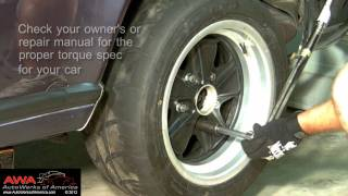 Torque a Wheel Properly | Torque Lug Nuts