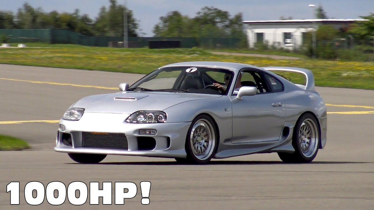1000HP Toyota Supra vs AMG GT S vs Chevrolet Camaro - YouTube