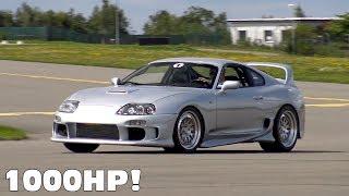 1000HP Toyota Supra vs AMG GT S vs Chevrolet Camaro