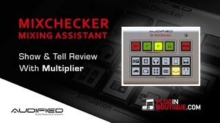 MixChecker Utility Plugin - Show Reveal - With Producer Multiplier