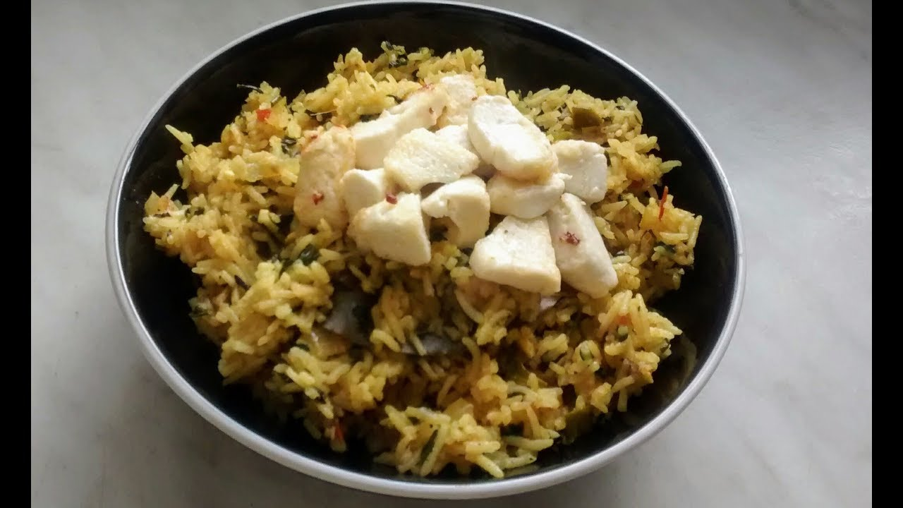 Methi pulao recipe methi rice recipe fenugreek rice recipe