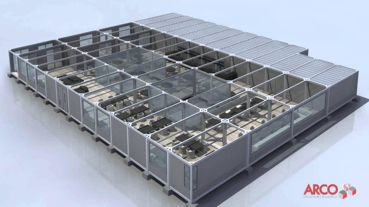 Vídeo 3D de Construcción Modular - by ABpositivo3D