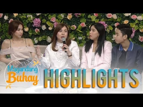 Magandang Buhay: Marjorie expresses her love for her children