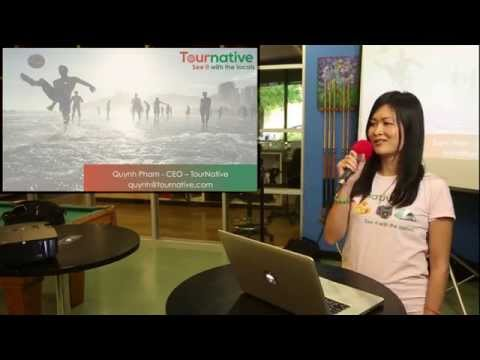 Quynh Pham - TourNative @ Hacker Dojo Lightning Talks, 2015-06-10