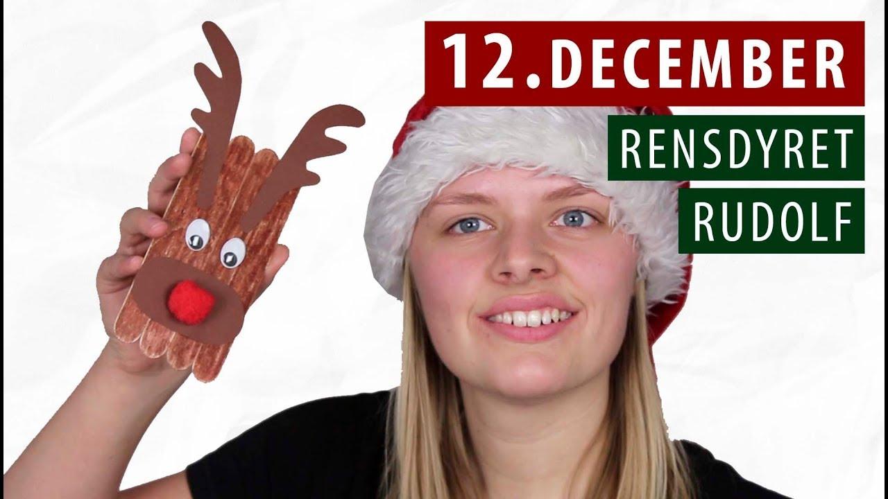 Lav RENSDYRET RUDOLF - DIY | 12. December