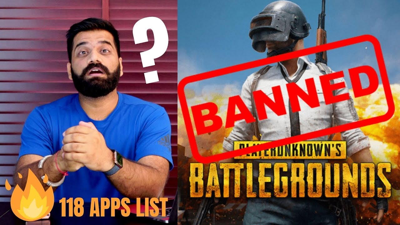 PUBG Banned In India - 118 Apps Ban in India - Full List???