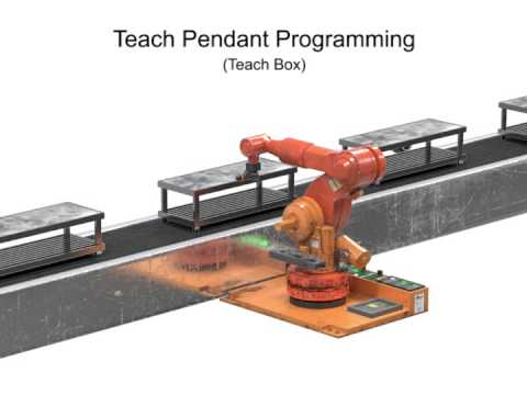 Robotics: Online Programming - Teach Pendant & Lead-through