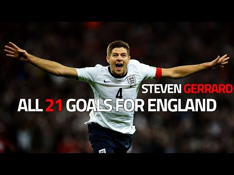 Steven Gerrard ● All 21 Goals for England |HD|