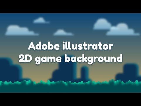 Speed art | Adobe illustrator tutorial | game background thumbnail