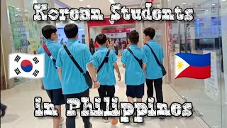 Korean students in Philippines