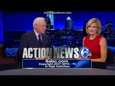 WPVI: Channel 6 Action News At 11pm Close--2017