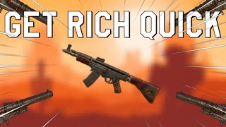 HOW TO GET RICH IN 5 MINUTES! - Roblox Dust