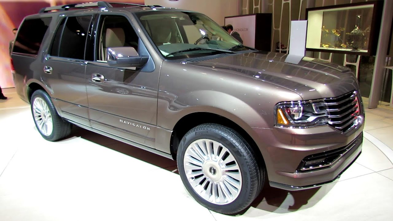 2015 lincoln navigator exterior and interior walkaround 2014 toronto auto show youtube