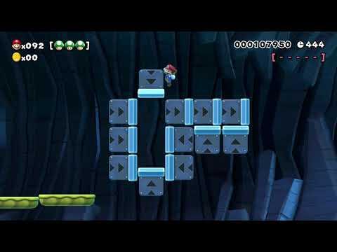 Super Mario Maker 100 Mario Challenge Super Expert No Skips 95