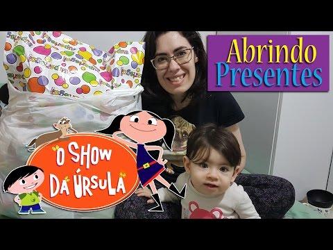 O Show da Úrsula  - Abrindo os PRESENTES DE ANIVERSÁRIO