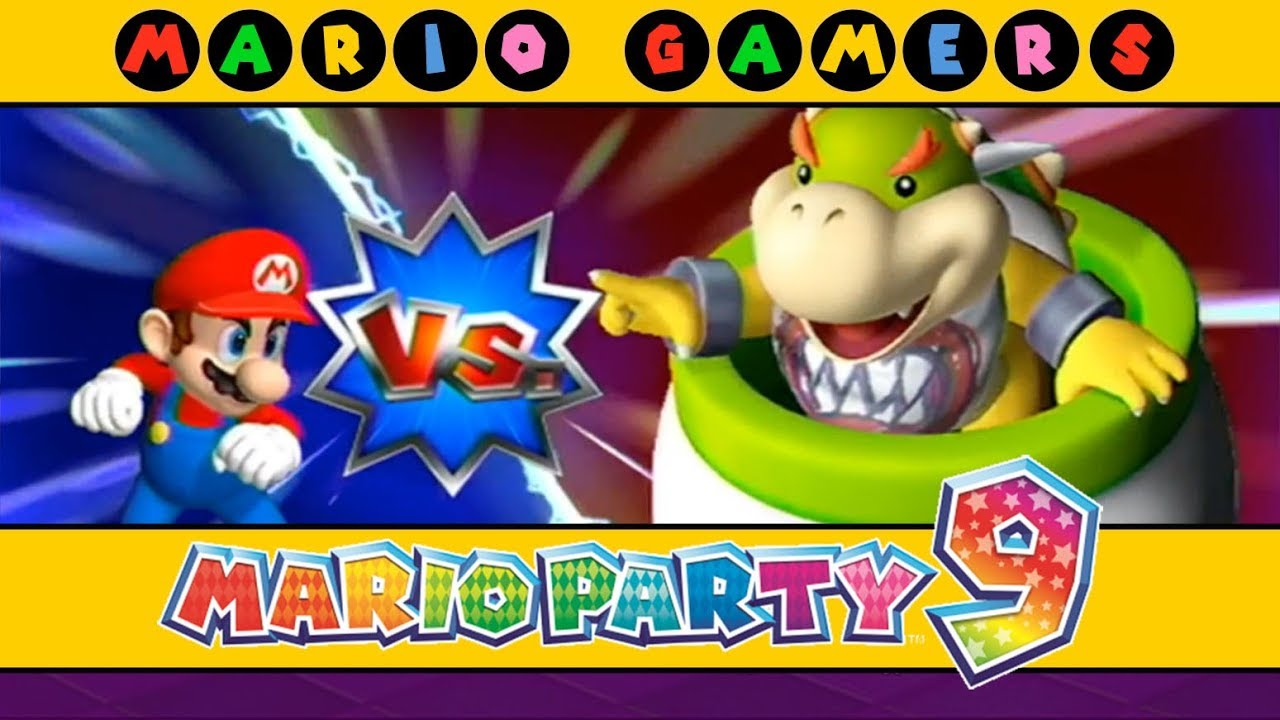 Mario Party 9 Bowser Station Mario Vs Peach Vs Daisy