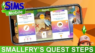 The Sims Mobile Smallfry's Quest for Treasure Walkthrough
