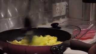 Scallions Shrimp Scrambled Eggs 香蔥蝦仁炒蛋
